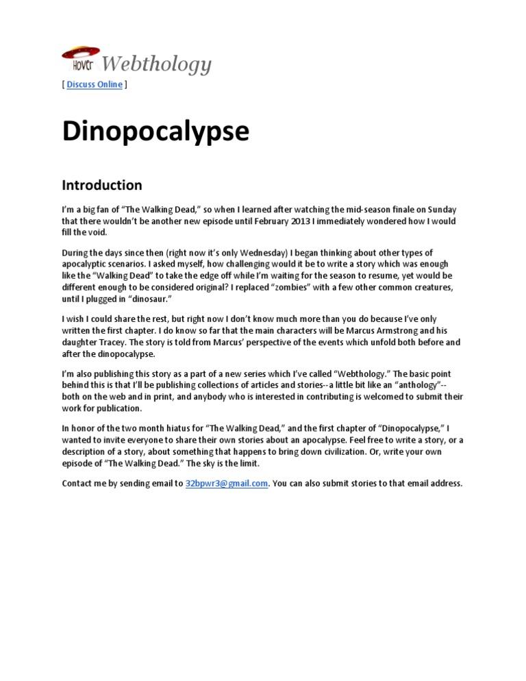 Introduction Dinopocalypse