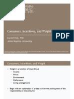 Principles of obesity economics Lecture3A