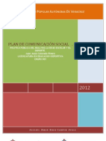 Plan de Comunicacion Social de La Pp Del Bulin