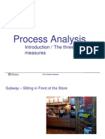Process Analysis Module 1 Slides