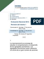 Examen Nacional MACROECONOMIA
