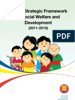 Asean Strategic Framework for Social Welfare and Development