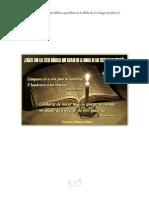 ¿CUÁLES SON LAS CITAS BÍBLICAS QUE FALTAN EN LA BIBLIA DE LOS TESTIGOS DE JEHOVÁ