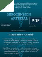 DIAPOSITIVAS DEL Hipotension Arterial