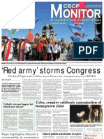 CBCP Monitor Vol. 16 No. 25