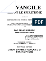 Spirit is Me Fr Allan Kardec 3 L'Evangile Selon Le Spirit is Me Words