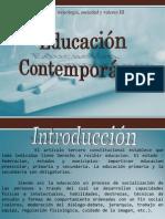 educación contemporanea CTSyV 3