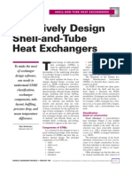 Effectively Design Shell-And-Tube Heat Exchangers