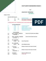25.0 m Monopole Comparative Study