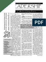 8 August Newsletter