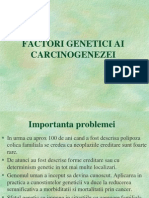 04 - Factori Genetici in Cancer