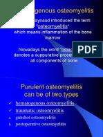 Hematogenous Osteomyelitis