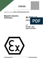 Magnetic Inductive Flowmeter