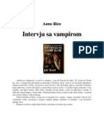 Anne Rice-Intervju s Vampirom