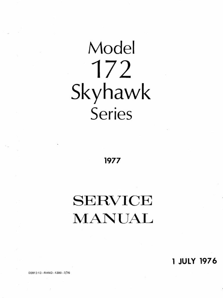 cessna172 skyhawk manual