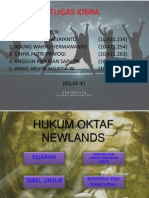 Hukum Oktaf Newlands