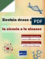 Zientzia dibulgazioa - Divulgación científica