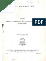 Design of Earth Mat for HV SS