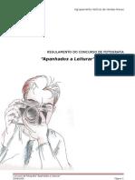 Regulamento Do Concurso de Fotografia