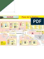 Place de La Station Namur