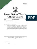 Lagos State 2012 Traffic Laws 01