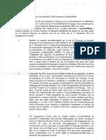Accord  ArcelorMittal - Etat Français