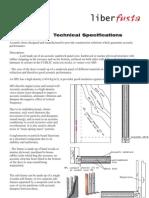 Acoustic Door Technical Specifications
