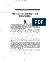 The Connection of Online Search and Advertising