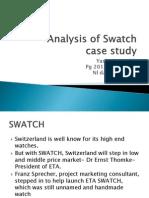swatch case study