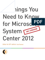 10 Things You Need to Know for System Center 2012 Success