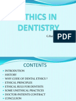 Ethics in Dentistry