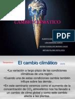 CAMBIO CLIMÁTICO definitivo II