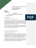 Borrador del Informe GEO República Dominicana 2009