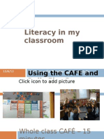 Literacy in My Classroom 2013