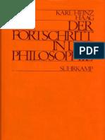 Haag.karl.Heinz.der.Fortschritt.in.Der.philosophie