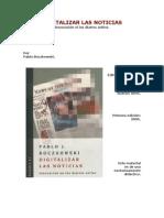 Digitalizar las Noticias - Pablo Boczkowski (capitulo 3)