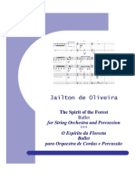 The Spirit of the Forest - for String Orchestra and Percussion - Parts