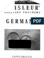 Pimsleur - German I - Booklet