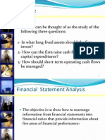 Overview of Accounting and Finace