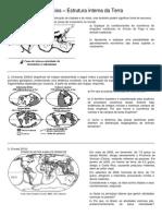 Exercícios estrutura interna