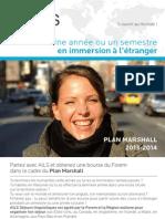 AILS séjours linguistiques | Plan Marshall