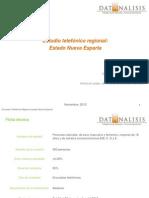 Datanalisis - Nueva Esparta - Informe Cubagua - 01