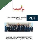 Revue de Presse - Capdema PDF