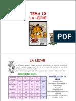 Tema 10. La Leche