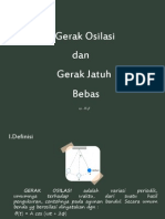 Gerak Osilasi