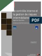 Le Contrôle interne et la gestion des risques intermédiaires