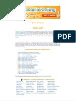 Siteground Joomla 1.5 Tutorial