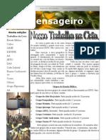 Boletim sobre atividades da Comunidade Evangélica de Confissão Luterana em Teófilo Otoni - CETO