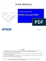Epson Aculaser c4200 Service Manual
