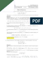Examen Final Cálculo III, 4 de diciembre 2012